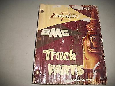 1958-1961 Chevrolet & Gmc Truck Parts Catalog Chassis And Body Cmystor$More