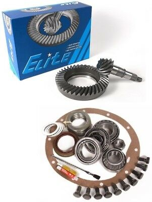 """1972-1998 GM 8.5"""" Chevy 10 Bolt 3.42 Ring and Pinion Master Kit Elite Gear Pkg"""
