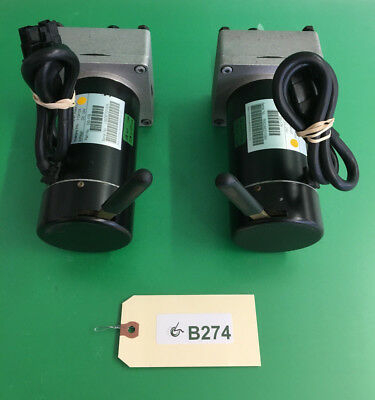 Left & Right Motors for Invacare Pronto Sure Step M41- 1134124,1134125  #B274