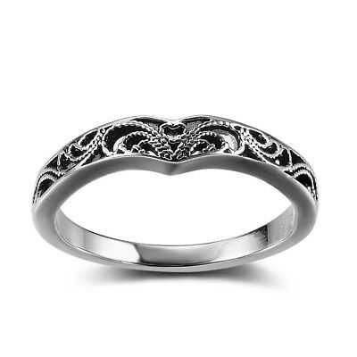 Fashion Vintage Women Solid 925 Sterling Silver Celtic Knot Rings Jewellery #M-Q