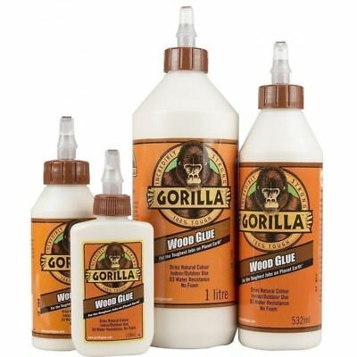 GORILLA WOOD GLUE ✔100% Waterproof ✔Versatile ✔Incredibly Strong ✔°C Resistant
