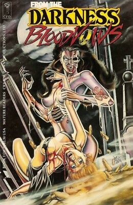 CFD FROM THE DARKNESS: BLOODVOWS #1 Jim Balent 1993 Tarot  mature readers