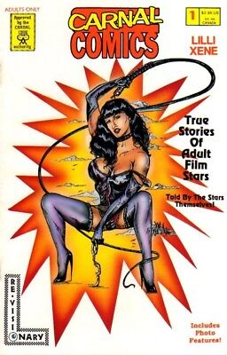 Carnal LILI XENE #1 bettie page bondage 1996 erotic