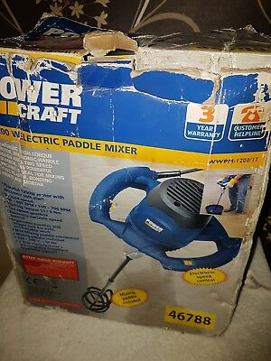 Power Craft 1200W Electric  Paddle Mixer