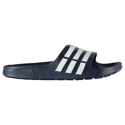 Men's Adidas® Duramo Slide G15892 Navy Synthetic Shower Street Sandal Size