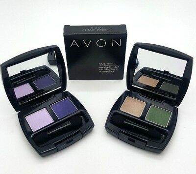Avon True Colour Single & Duo Eye Shadow Palette Make up Women New Box Assorted