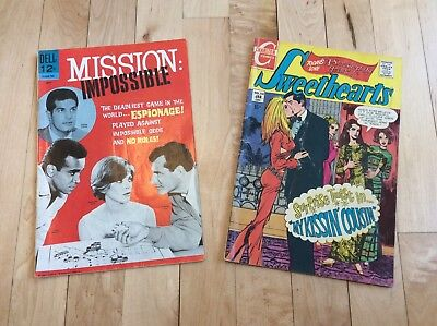 Silver age comic lot Mission Impossible Sweethearts Camaro SS (Re:IS-269)