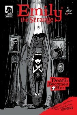Dark Horse EMILY THE STRANGE #1 goth cult 2007
