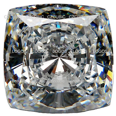 Cz,cubic Zirconia Premium Quality Cushion Shape Stones 7A (Not Aaaaa) Cz Us Ship