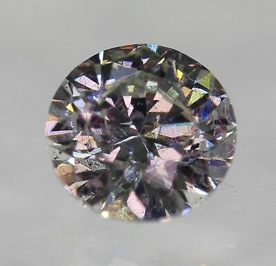 Certified 0.40 Carat F SI1 Round Brilliant Enhanced Natural Loose Diamond 4.69mm