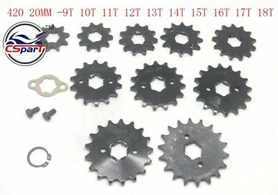 9T 10T 11T 12T 13T 14T 15T 16T 17T 18T Tooth 420 20MM Sprocket for Honda Taotao