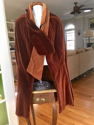 Vintage Couture 1920's Cape Cloak Wrap Cocoon Coat
