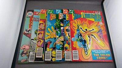 7 Dc Kung-Fu Fighter And Shade The Changing Man Bronze Age Comic Lot