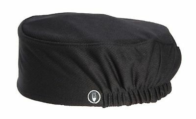 Chef Works Men's Total Vent Chef Beanie, Black, One Size 1