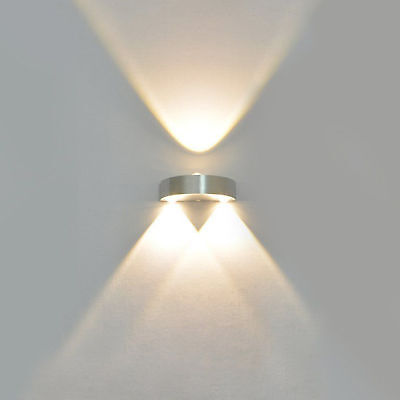 Modern 9W 3-LED Wall Light Up & Down Lamp Sconce Lighting Home Bedroom Fixture