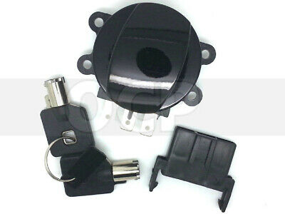 Drag Specialties BLACK Side Hinge Ignition Switch for Harley 2003-2011 FXDWG  21