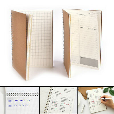 Monthly Kraft Notebook Diary Planner Diary Journal Stationery School Supplies