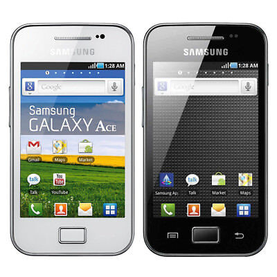 """Original 5.0MP 3.5"""" Wifi Unlocked Samsung GALAXY Ace S5830 Android Mobile Phone"""