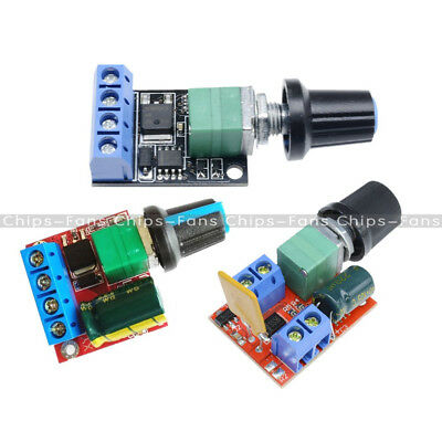 5A/10A Mini Motor PWM Speed Controller 3V/4.5V-35V Control Switch LED Dimmer