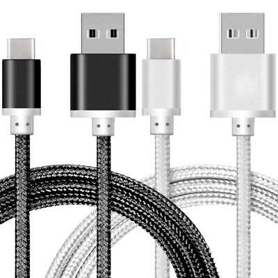 Strong Braided Nylon Fast USB C 3.0 Type C Data Sync Charger Charging Cable AU