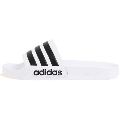 7e578b14972 New Adidas Adilette Shower Slides Sports Slippers Sandals AQ1702 Black White