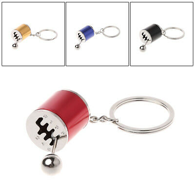 5 Colors Manual Transmission Gear Lever Keychain Gearbox Shift Lever Key Holder