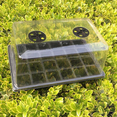 Germination Seed Starter Tray Seed Box Flower Plant Pot For Home Office Dec D0Y8