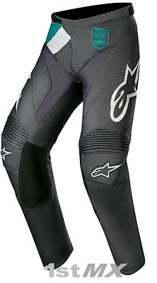 """Alpinestars Racer Vice Indianapolis LE Grey MX Offroad Motocross Pants Adult 34"""""""