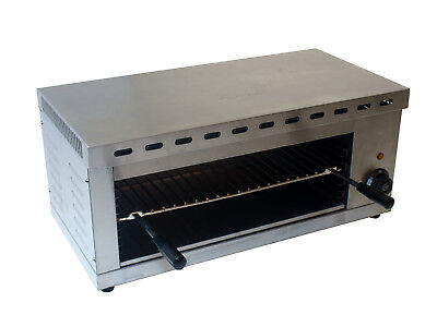 Commercial Stainless Steel Electric Salamander Grill Counter Top Toaster Uk Plug