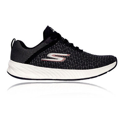 Skechers Mens Go Run Forza 3 Running Shoe Black Breathable Reflective Trainers