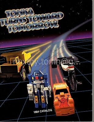 TONKA 1984 CATALOG GoBots Clutch Poppers TNTs Vehicles Playsets Mighty Cycles +
