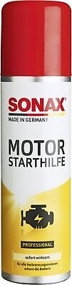 Sonax Engine Starter Reliable Cold Start Product Petrol Diesel Engines Protects