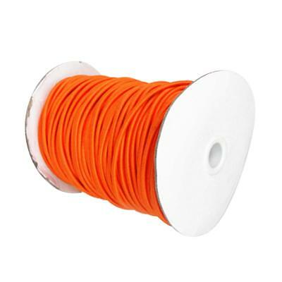 4mm 5m Orange Elastic Bungee Rope Shock Cord Tie Down Car Boat Trailer