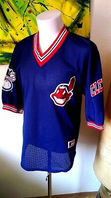 Oldschool Pro one Cleverland Indians Trikot Baseball Größe M  *American League*