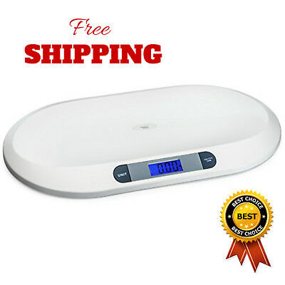 Smart Weigh Digital Scale 3 Weighing Modes 44 Pounds Capacities Accurate Infants