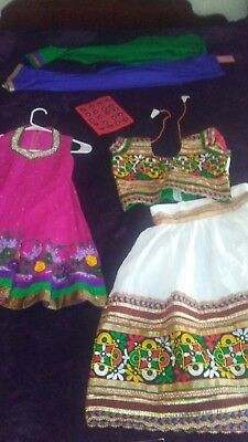 Indian embroiderd dress lot kids pants and more