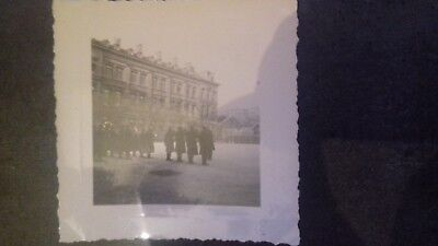 photo agfa lupex+officier+fanfare+photo militaire+