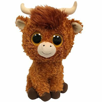 Ty Beanie Babies Boos 36406 Angus the Scottish Highland Cow Boo Buddy