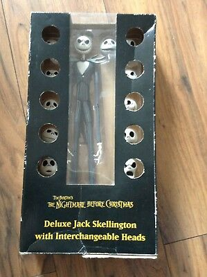 Deluxe Jack Skellington Figure with Interchangeable Heads