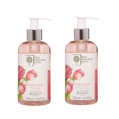 2-pack Bronnley ROSE Hand Wash 250ml