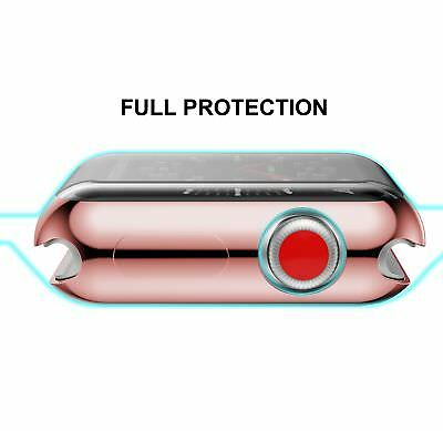 Apple Watch 42mm Case Soft Flexible Full Protection Cover Slim Lightweight Pink