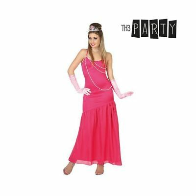 Costume per Adulti Th3 Party Dama Rosa