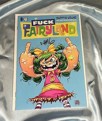 I Hate Fairyland #1~Variant~Hand-Signed By Writer/artist/creator Skottie Young~