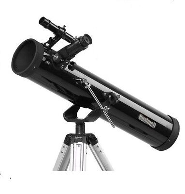Bushnell 700x76mm Reflector Telescope Portable Space Astronomical Beginner