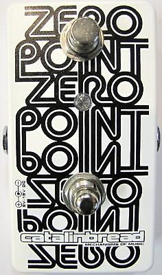 Used Catalinbread Zero Point Flanger Guitar Effects Pedal! ZeroPoint