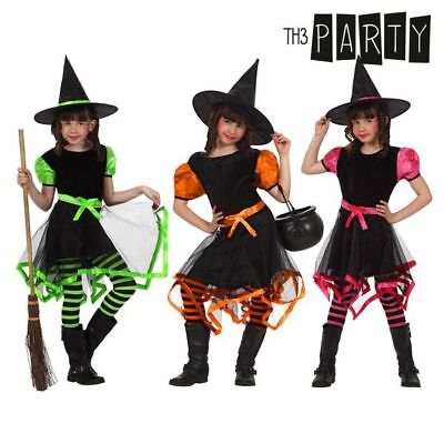 Costume per Bambini Th3 Party Strega Multicolore