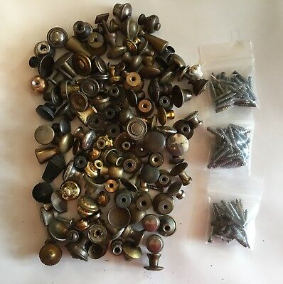 Large Lot of 100+ Misc. Small Knobs