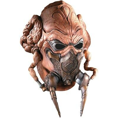 Dlx Plo Koon Mask Star Wars The Clone Wars Adult Jedi Knight Costume Accessory