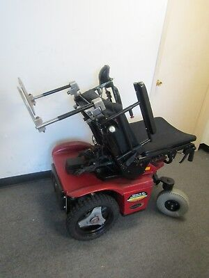Omega Trac All Terrain Wheelchair With Tilt And Lights.new Batteries.
