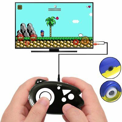 8 Bit Classic Handheld TV Video Game Console Player Built-in 89 Free Retro Games